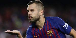 Jordi Alba Menyepakati Kontrak Barunya Di Barcelona