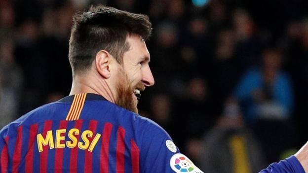 Pique Sebut Messi Bawa Barcelona Ke Level Yang Berbeda