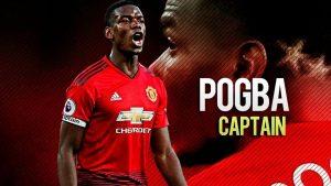 Rumor: Paul Pogba Akan Jadi Kapten United Gantikan Valencia ?