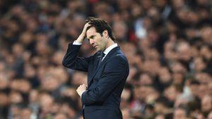 Real Madrid Putuskan Tuk Pecat Santiago Solari Di Akhir Musim Nanti