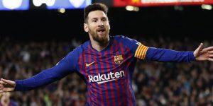 Lionel Messi Raih Gelar Sepatu Emas Eropa Keenam !