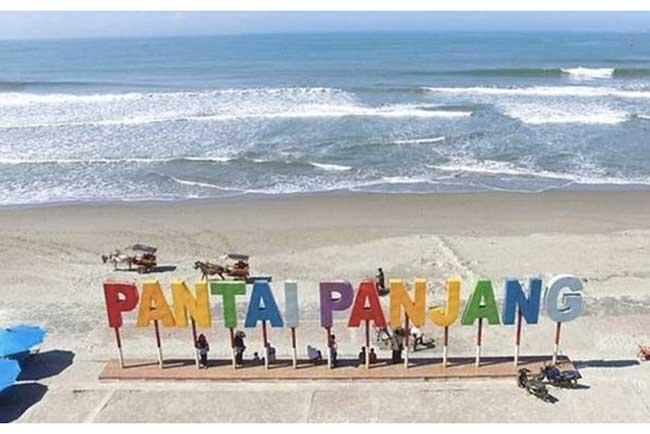 Pantai Panjang di Bengkulu Beneran Panjang?